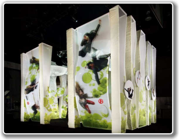 Fabric Exhibition Stand Examples : Fabric structures exhibition stands trade shows