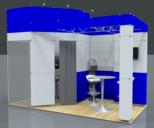 Modular Exhibition Stand Hire : Exhibition stand hire modular display rental