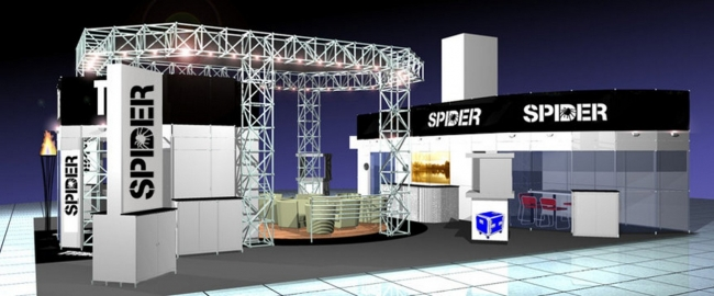 Exhibition Stall For Rent : Exhibition stand hire modular display rental northampton uk