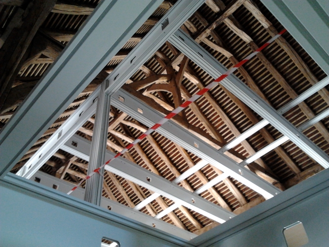 Roof section