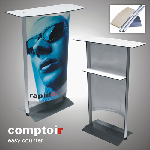 Exhibition Stand Design Northamptonshire : Comptoir counter