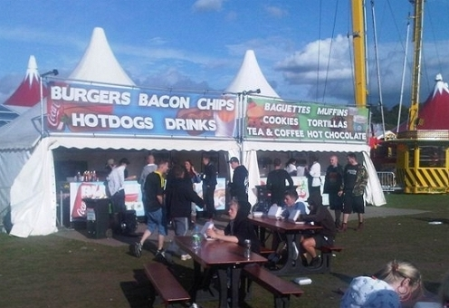 A Vinyl banner printed with UV stable inks allow for long lasting colour, even in outdoor locations