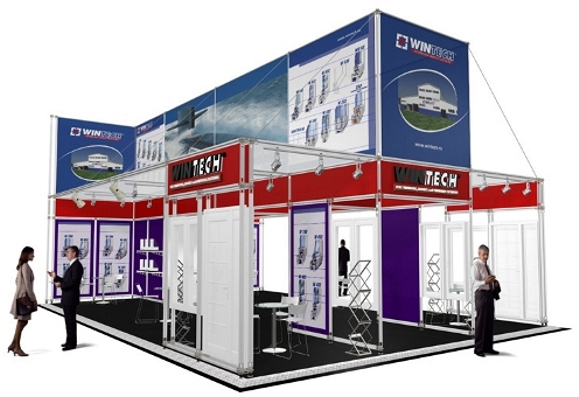 Duo 4 modular exhibition system
