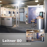 Leitner 80 modular system with cylindrical uprights