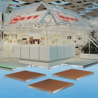 Kleu Modular Exhibition Flooring Systems