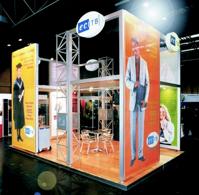 Exhibition stands built upto 5 m high