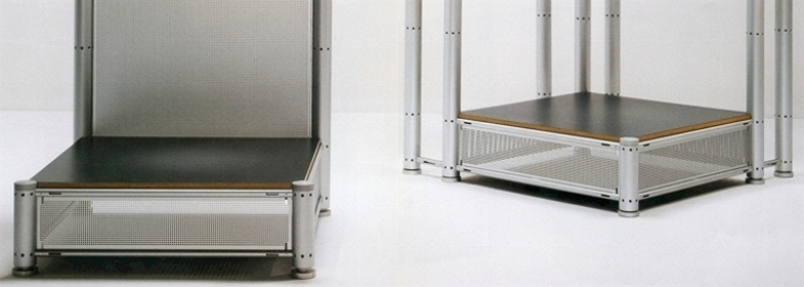 Leitner 80 Interior Display System - Raised platforms