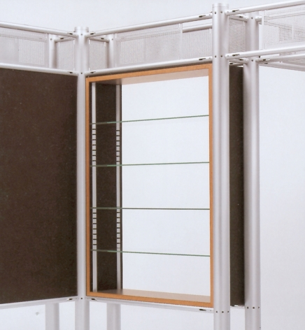 Leitner 80 non-illuminated showcases.