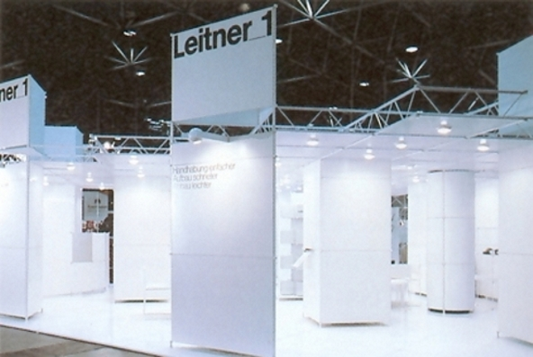 Leitner 1 - Exhibitions using a classic panel system