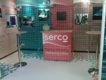 Leitner 1 Modular exhibition systems with printed floor graphics