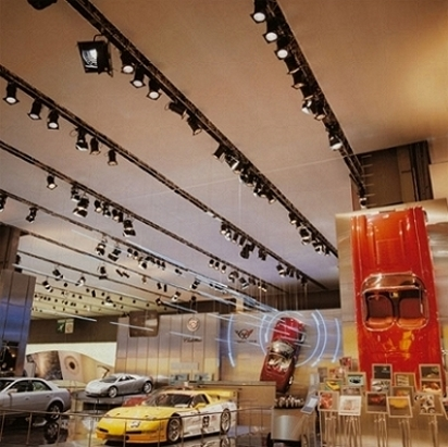 SmokeOut is a material used for stretch ceilings